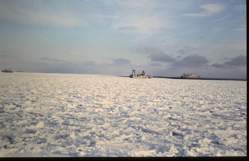 Winter auf See